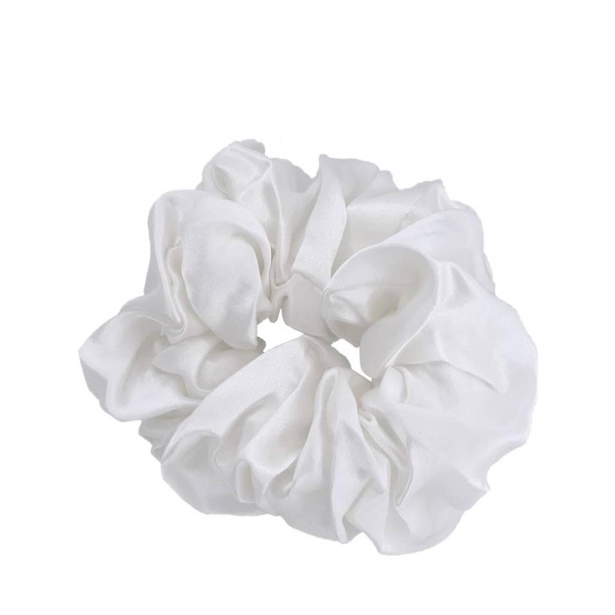 Scrunchie XL - hvit