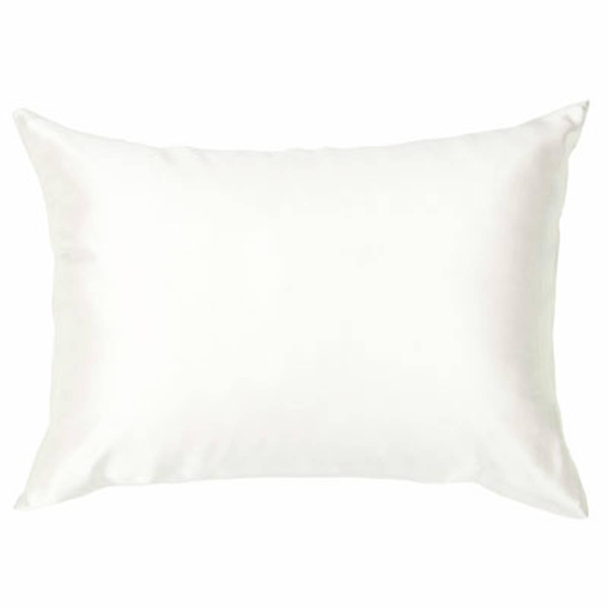 Silkeputetrekk - hvit - glidelås